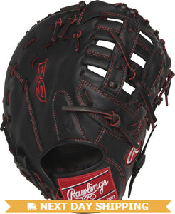 GW-RTP-RS: Rawlings Gamer - R9 Youth Pro Taper • 12˝ 1st Base • Pro H™ web-GloveWhisperer, Inc