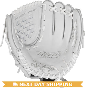 GW-RTP-RS: Rawlings Liberty Advanced FP Softball • RLA120 • 12˝ Softball pattern • Basket-Web® • Custom fit-GloveWhisperer, Inc