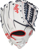 GW-RTP-RS: Rawlings Liberty Advanced FP RLA125FS-15WNS 12 ½˝ Softball • Double-laced Basket-Web Custom FIt-GloveWhisperer, Inc
