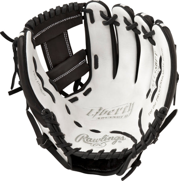 GW-RTP_RS: Rawlings Liberty Advanced FP Softball • RLA315SBPT • 11 ¾˝ Softball pattern • Pro I™ web-GloveWhisperer, Inc