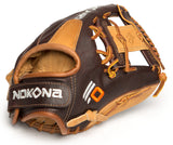 "GW-RTP_RS: Nokona SV1 Alpha Select 11.25"" Youth I-WEB Velcro Back-GloveWhisperer, Inc"