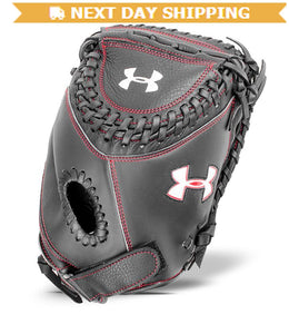 "GW-RTP-RS: Under Armour Youth- UA Girls Framer 31 1/2"" Fast Pitch Mitt-GloveWhisperer, Inc"