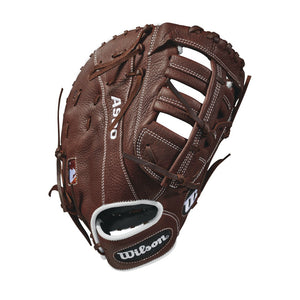 "GW-RTP_RS: Wilson 2018 A900 12"" FIRST BASE BASEBALL MITT-GloveWhisperer, Inc"