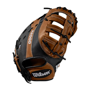 "GW-RTP_RS: Wilson 2019 A2000 1614 12.5"" FB Mitt Black-GloveWhisperer, Inc"