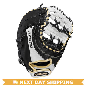 "GW-RTP-RS: WILSON 2019 A2000 FP 1BM W/ SUPERSKIN 12"" FIRST BASE MITT-GloveWhisperer, Inc"