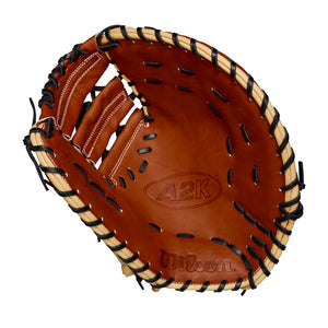 "GW RTP-RS: Wilson 2018 A2K 1617 12.5"" FIRST BASE BASEBALL GLOVE-RHT-GloveWhisperer, Inc"