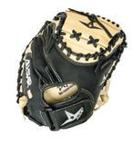 "GW-RTP: All-Star Youth Comp™ 31.5"" Catchers Mitt in Black and Tan-GloveWhisperer, Inc"
