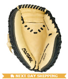 "GW-RTP-RS: All-Star Youth Comp™ 31.5"" Catchers Mitt in Black and Tan-GloveWhisperer, Inc"
