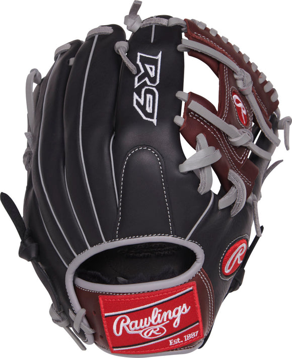 GW-RTP: Rawlings 2019 R9 Series 11.5 in Infield Pro I Web, Conentional Back Narrow Fit-GloveWhisperer, Inc