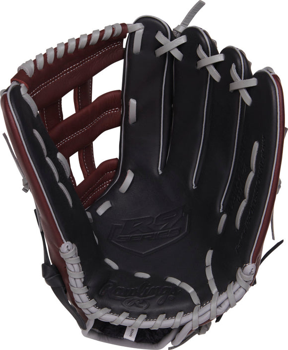 GW-RTP: Rawlings 2019 R9 Series 12.75 in Infield Pro H Web, Conentional Back-GloveWhisperer, Inc