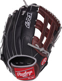 GW -RTP-RS: Rawlings 2019 R9 Series 12.75 in Infield Pro H Web, Conentional Back-GloveWhisperer, Inc