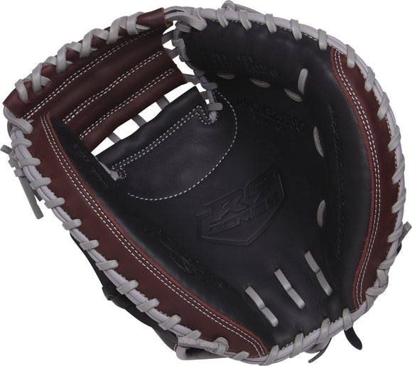 GW-RTP: Rawlings 2019 R9 Gamer 32.5 in Catcher Mitt Solid Web, Conventional Back-GloveWhisperer, Inc