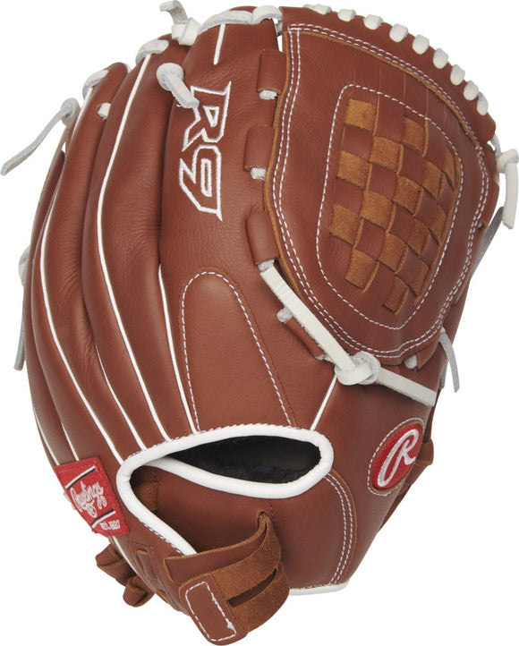 GW-RTP: Rawlings 2019 R9 Series 12 in Pitchers/Infield Glove Basket Web, Pull-Strap Back-GloveWhisperer, Inc