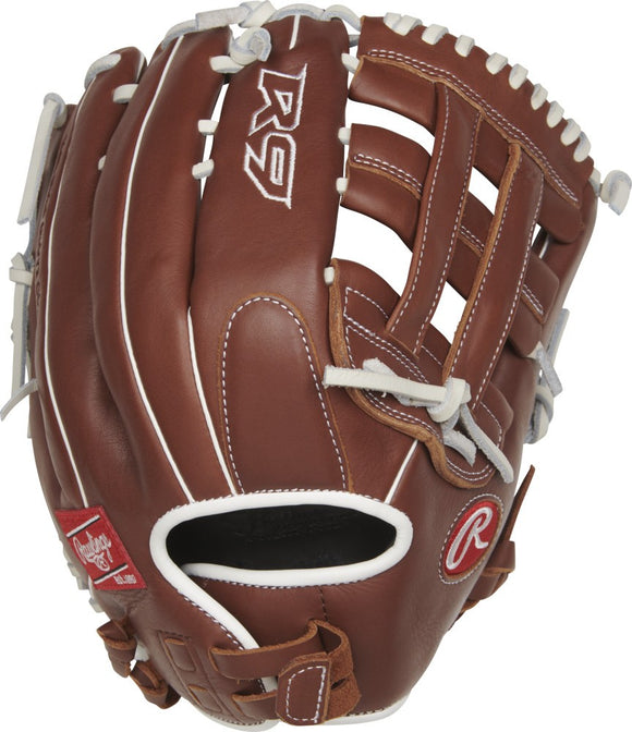 GW-RTP: Rawlings 2019 R9 Series 13 in Fastpitch Glove Pro H Web, Pull-Strap Back-GloveWhisperer, Inc