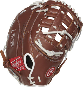 GW-RTP: Rawlings 2019 R9 Series 12.5 in 1st Base Mitt Modified Pro H Web, Overlapping FastBack-GloveWhisperer, Inc