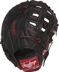 GW-RTP: Rawlings Gamer - R9 Youth Pro Taper • 12˝ 1st Base • Pro H™ web-GloveWhisperer, Inc