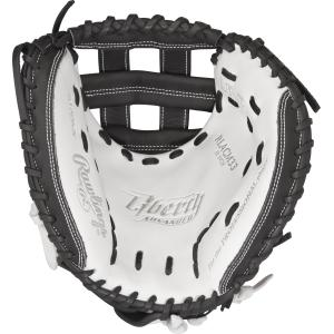 GW-RTP: Rawlings Liberty Advanced FP • 33˝ FP catcher's mitt • Modified Pro H™ web • Custom fit - RHT-GloveWhisperer, Inc