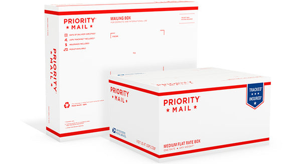 United States Postal Service: Priority Mail 2 to 3 day service Single Glove Shipping $14.00-GloveWhisperer, Inc