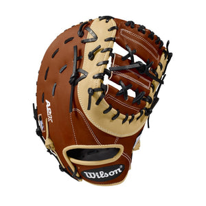 "GW-RTP: Wilson 2018 A2K 1617 12.5"" FIRST BASE BASEBALL GLOVE-GloveWhisperer, Inc"