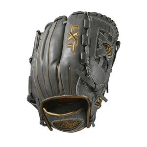"GW-RTP: Wilson - Louisville Slugger 2019 LXT 12"" PITCHER'S FP: Grey with Gold Piping-GloveWhisperer, Inc"