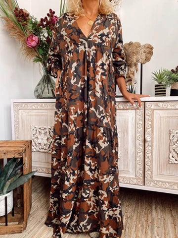 Women Dresses Casual Abstract Dresses