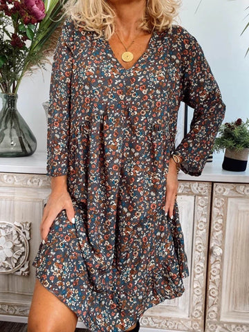 Women Dresses Casual Floral Dresses