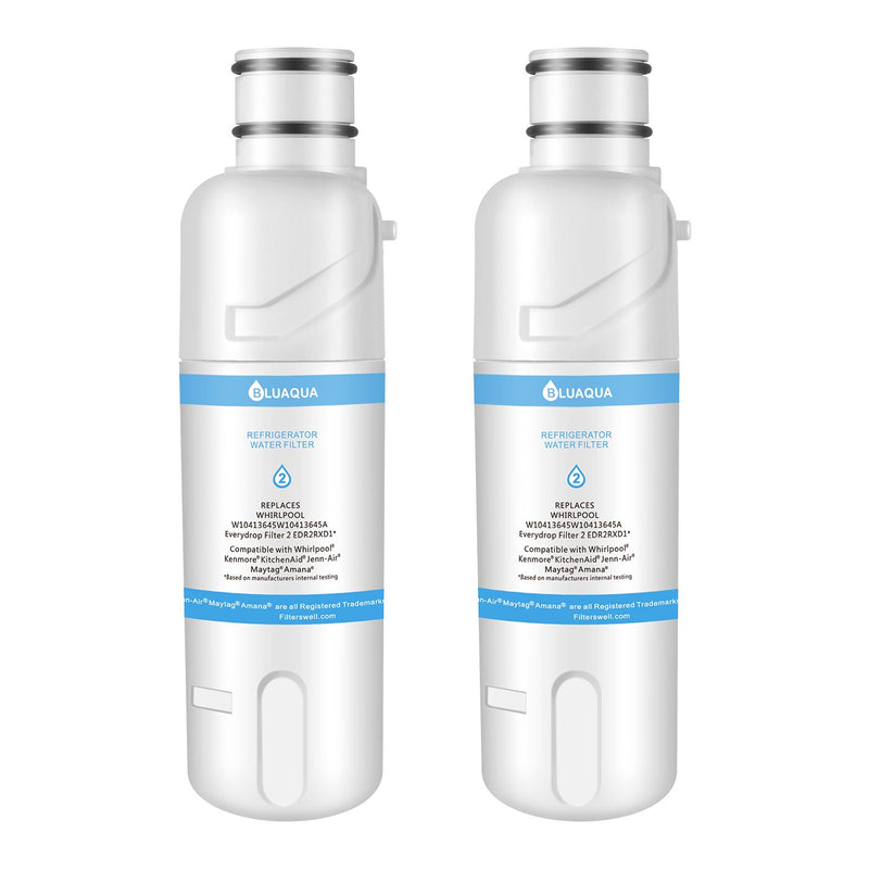Replacement for Whirlpool Water Filter EDR2RXD1 W10413645A , Whirlpool filter 2, 2-Pack - funcoolbox2018