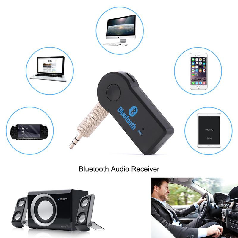 Bluetooth Receiver AUX Audio 3.5mm Muisc Audio Wireless Receiver For Car Speakers Headphones Bluetooth Adapter Hands Free