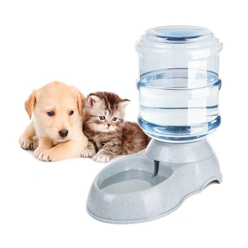 3.5L Large Automatic Pet For Feeder Drinking Fountain For Cats Dogs Environmental Plastic Dog Food Bowl Pets Water Dispenser