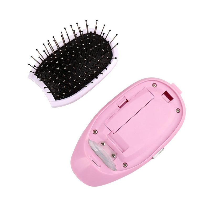 Portable Electric Ionic Hairbrush Negative ion Comb Hair Straightener Scalp Massage Anti-static Straight Hair Comb Hair Styling