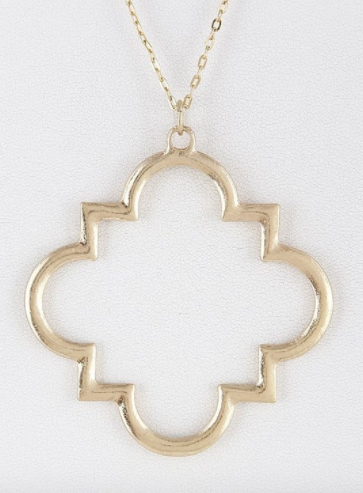 Simply Chic Geometric Necklace