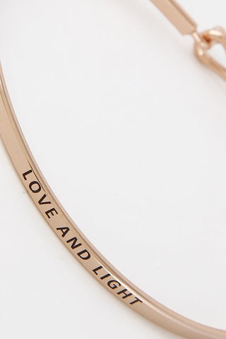 ENGRAVED SIMPLE BANGLE