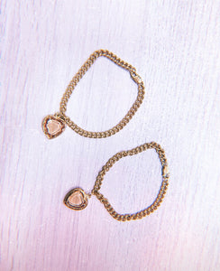 LITTLE GOLD HEART BRACELET