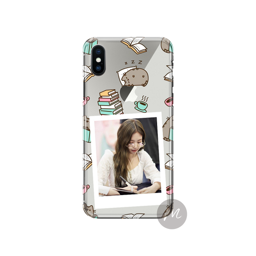 Anti-Crack Case Polaroid Theme Pusheen 2