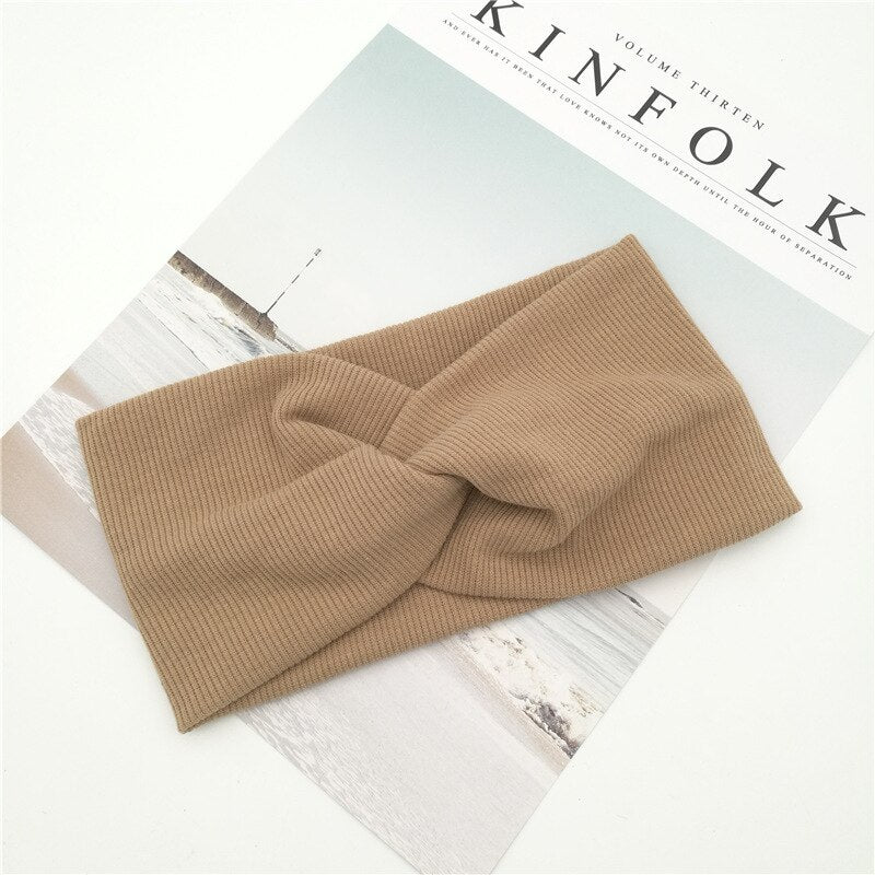 Top Knot Elastic Head Band