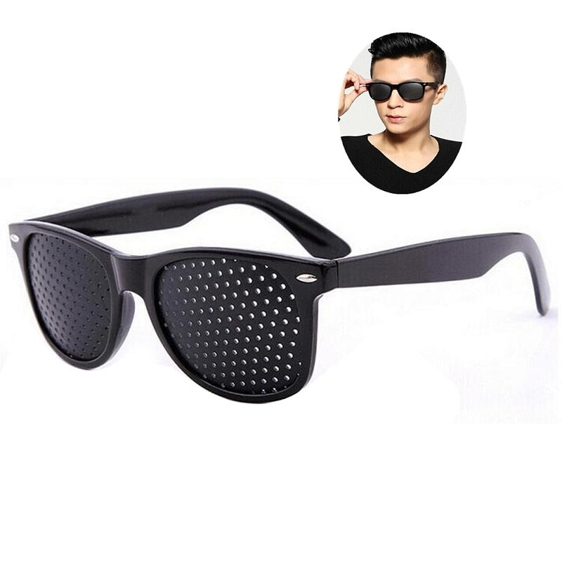 Eye Training Pin Hole Sunglass