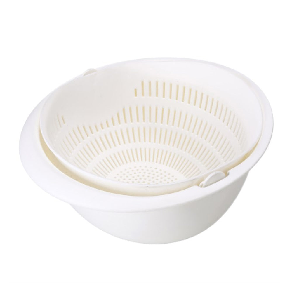Double Drain Storage Basket
