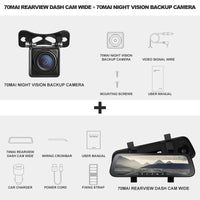 Rearview Mirror Dash Cam