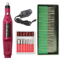 Professional Electric Nail Driller Set