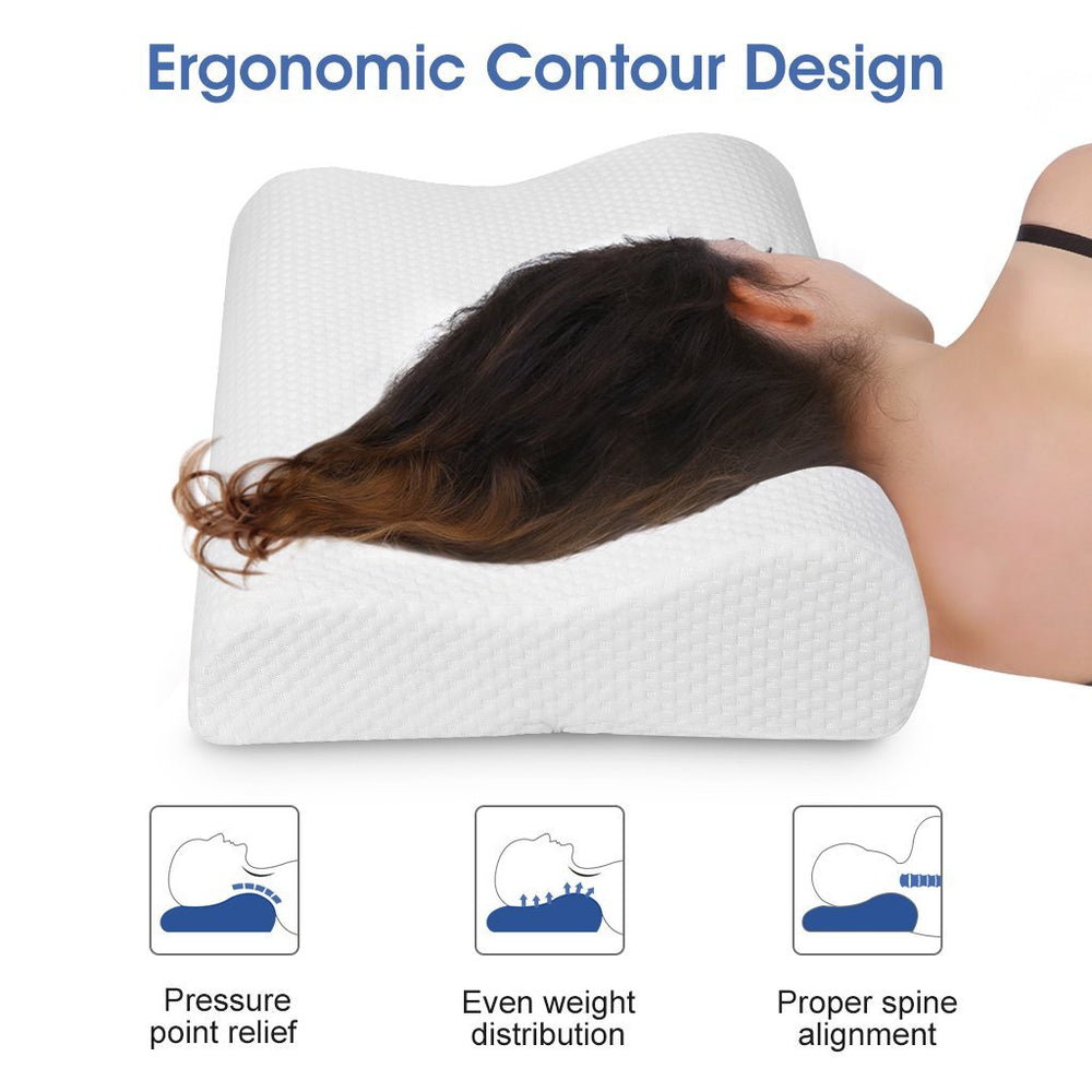 Contoured Neck Pillow