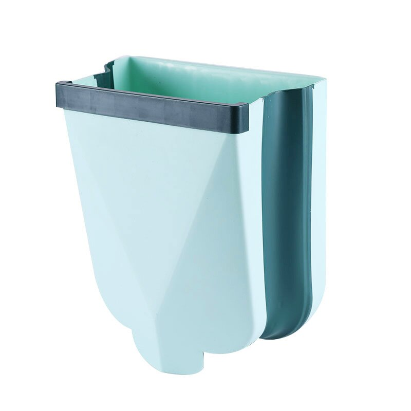 12L Wall Mounted Folding Trash Can