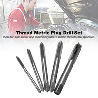 5 Pcs/ Set Spiral Screw Drill Thread