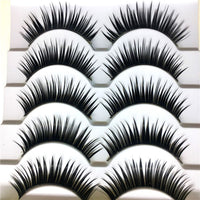 5 Pairs False Eyelashes