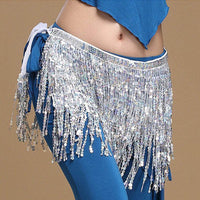 Sequined Belly Dance Skirt
