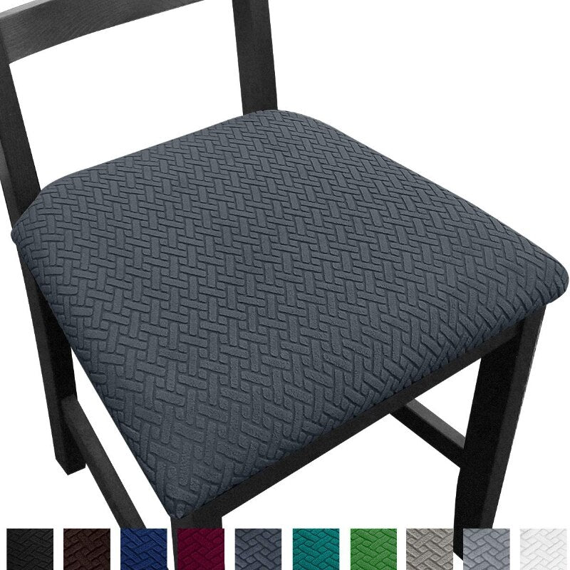 Jacquard Dining Seat Covers