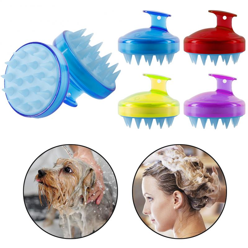 Silicone Hair Scalp Massager Brush