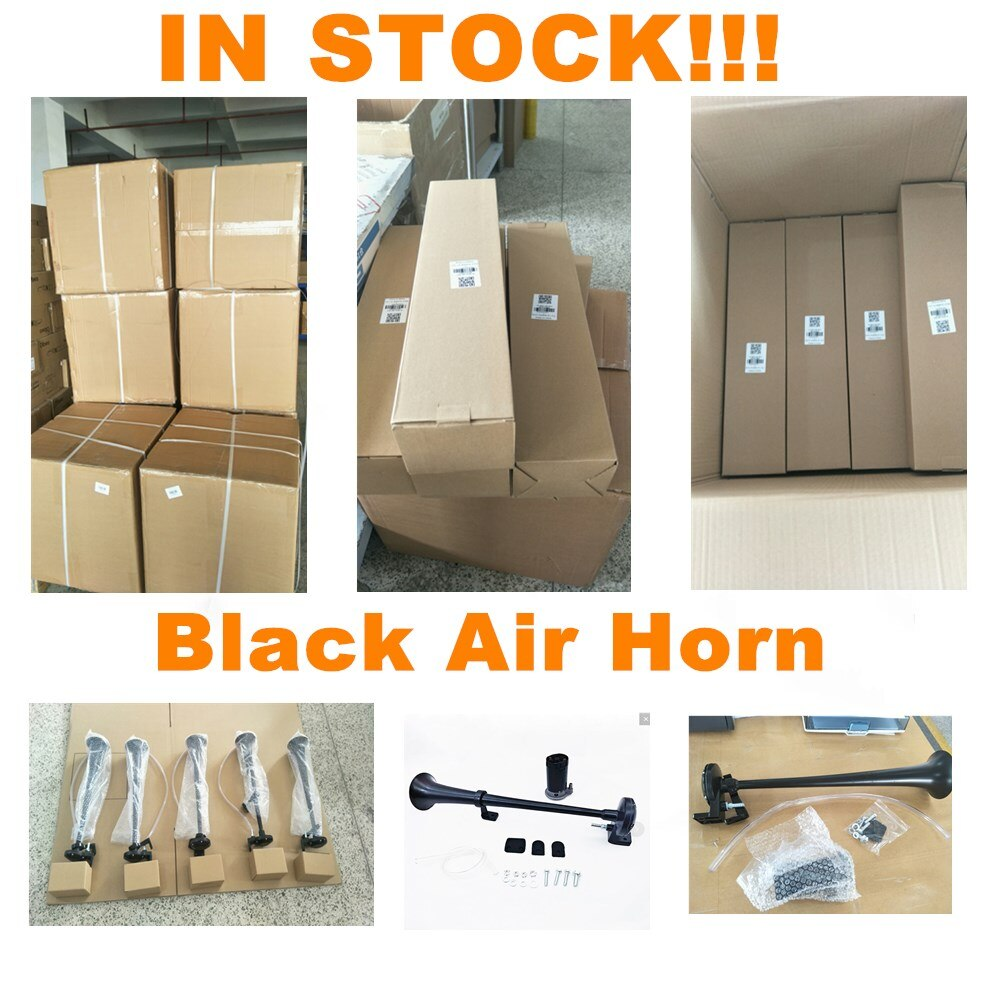 Black Universal Car Air Horn