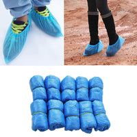50 Pairs of Disposable Plastic Shoe Cover