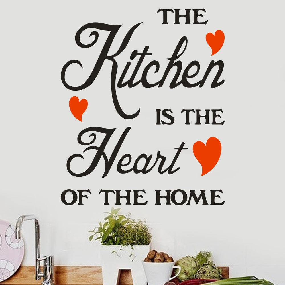Kitchen Warm Quote Wall Sticker