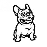 French Bulldog Dog Car Sticker